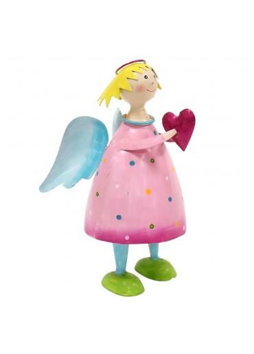 Engel Lena groß rosa zum Stellen