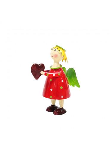 Engel Lena klein Rot zum Stellen