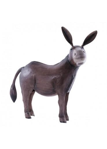 Metall Esel groß H 55 cm