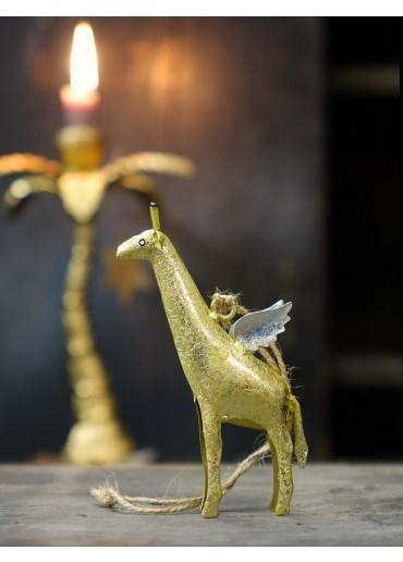 Metall Giraffe mini gold von Pape