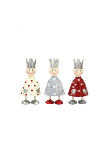 Metall heilige drei Könige mini