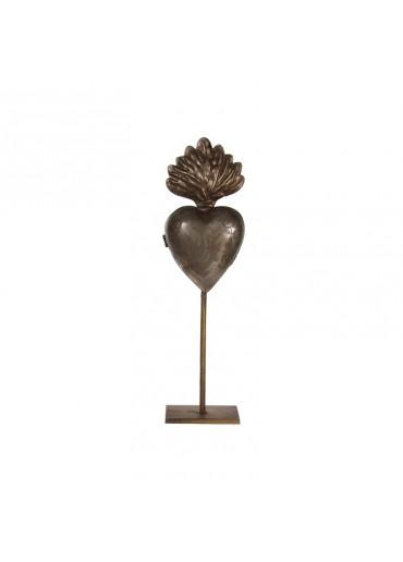 Scared Heart Metall antik M