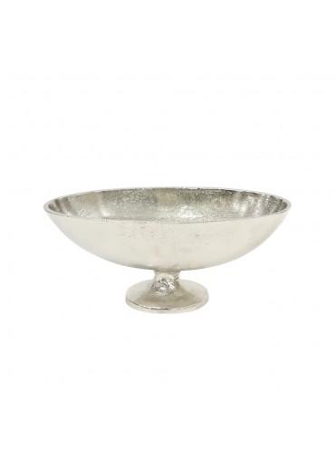 "Jardinière ""Amande"" M Aluminium silber vernickelt B 33,5 cm"