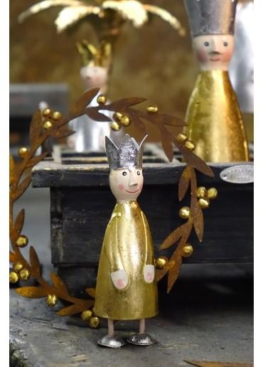 Edelrost Kranz mit Goldbeeren Ø 21 cm