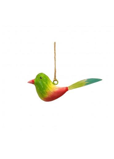Mini Metall Vogel bunt zum Hängen (103180)