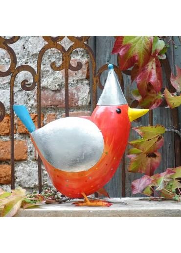 Großer bunter Metall Vogel Rico von Pape