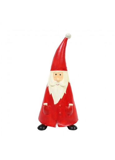 "Metall Santa ""Oskar"" XL rot  H 59 cm"