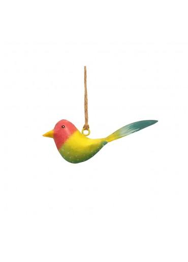 Mini Metall Vogel bunt zum Hängen (103178)