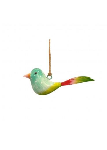 Mini Metall Vogel bunt zum Hängen (103177)