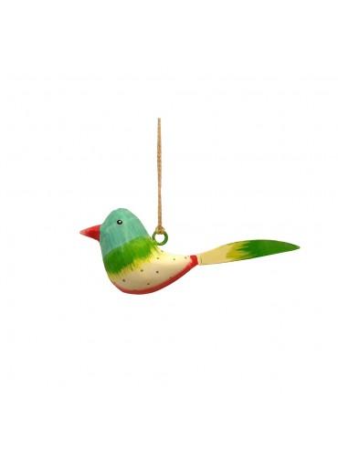 Mini Metall Vogel bunt zum Hängen (103176)