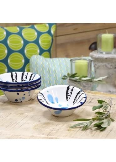 Portugiesische Keramik Schale mit Sardinen von Vista Portuguese