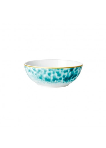 Rice Porzellan Frühstücksschale Glaze-Print Jade
