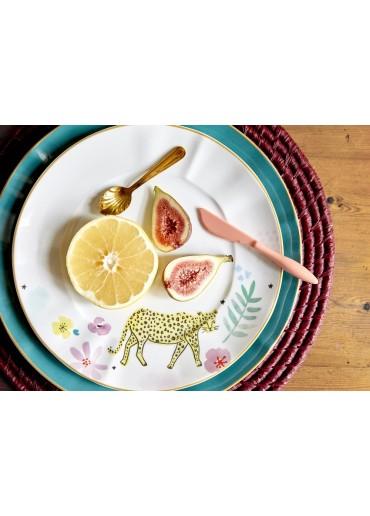 Rice Porzellan Speise Teller Jade
