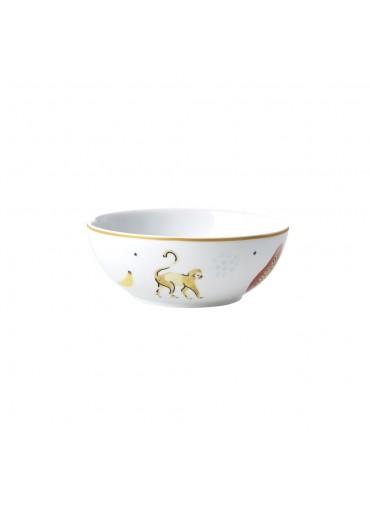 Rice Porzellan Frühstücksschale Monkey-Print