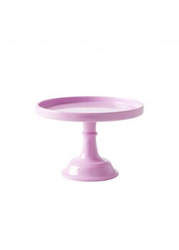 Rice kleine Melamin Tortenplatte pink