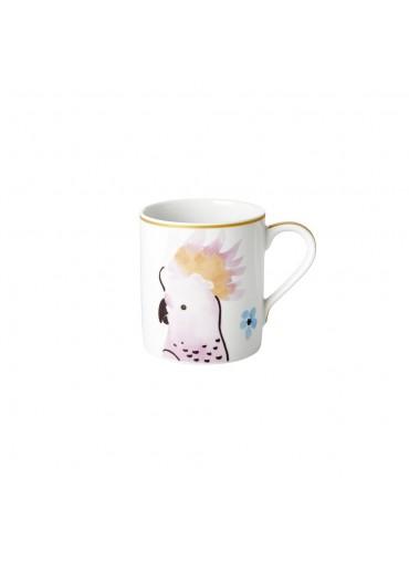 Rice Porzellan Kaffeetasse Cockatoo