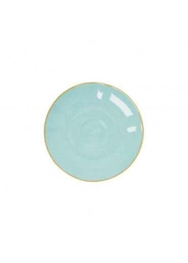 Rice Porzellan Untertasse Mint