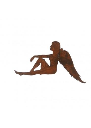 Rostiger Engel Anna sitzend H15