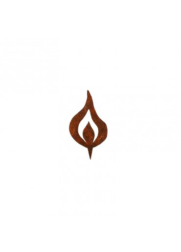 Rostige Kerzen Flamme H10