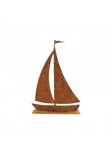 Rostiges Segelboot mittel