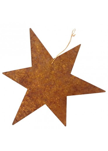Rostiger Stern XL