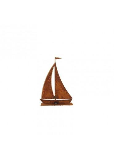 Rostiges Segelboot klein