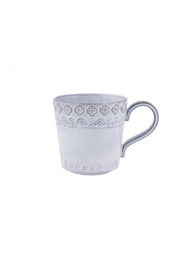 Rua Nova Keramik Becher antik weiß