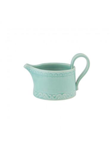 Rua Nova Keramik Milchkännchen aqua