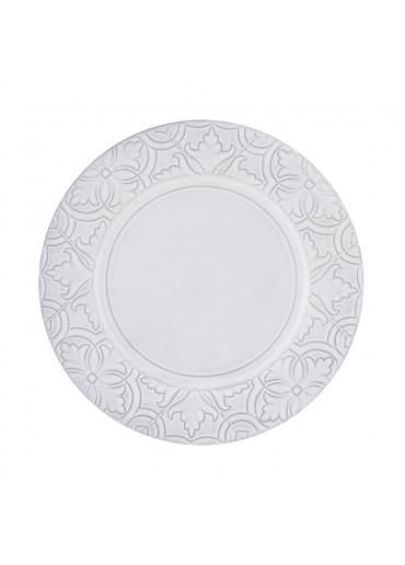 Rua Nova Keramik Teller antikweiß