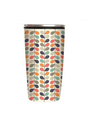 """Slide Cup """"Rows of Leaves"""" Bamboo Cup Deluxe von Chic.Mic"""