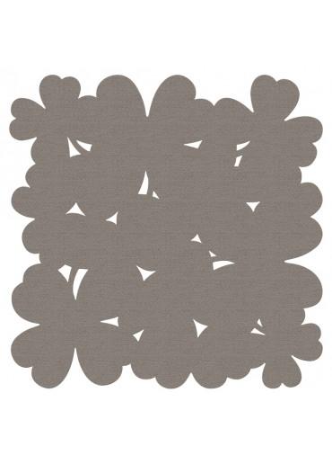 Fermob Outdoor Teppich Trèfle XXL Taupe 200 x 200 cm