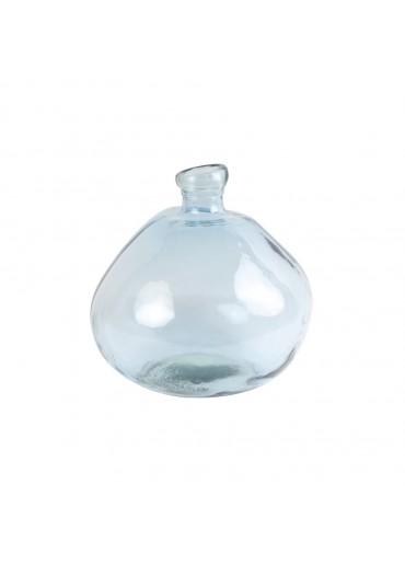 """Glas Vase""""Macello"""" groß hellblau"""