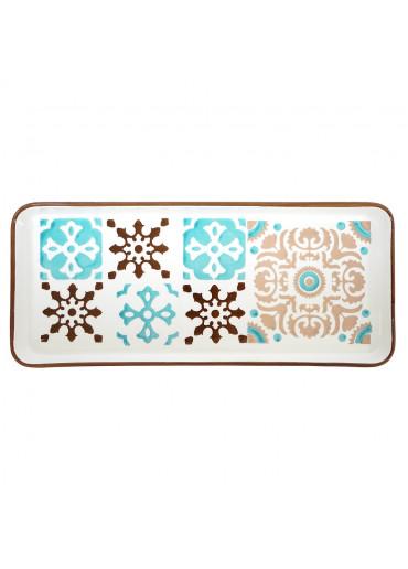 Keramik Platte rechteckig von Vista Portuguese