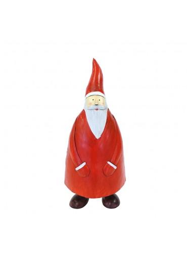 "Metall Santa ""Olaf"" L H36 cm"
