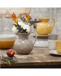 Daisy Keramik Krug taupe