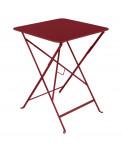 Fermob Bistro Tisch 57 x 57 cm Chili