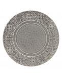 Rua Nova Keramik Teller groß anthrazit