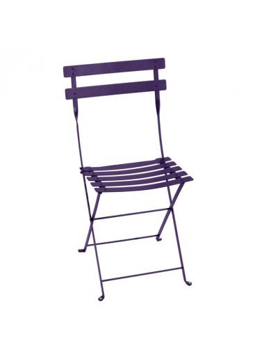 Fermob Bistro Stuhl Metall Aubergine