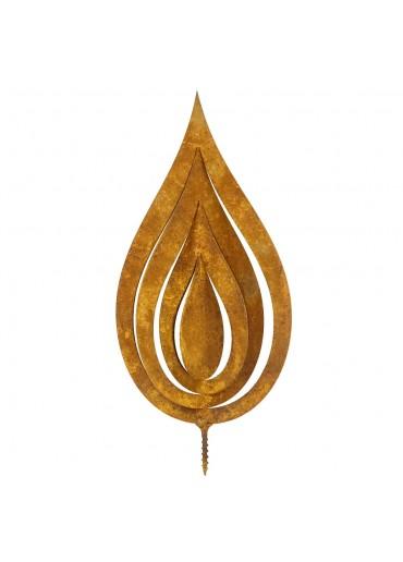 Edelrost Flamme 3D H18,5 cm