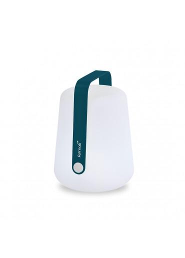 Fermob Outdoor LED Lampe Balad H25 cm Acapulcoblau