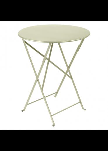 Fermob Bistro Tisch Ø60 Lindgrün