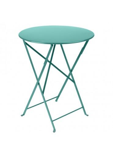 Fermob Bistro Tisch Ø60 Lagunenblau