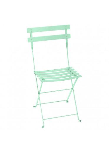 Fermob Bistro Stuhl Metall Opalgrün