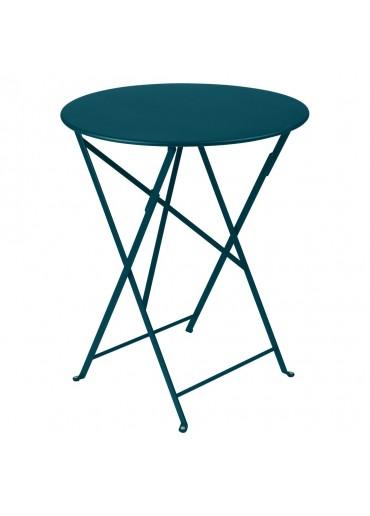Fermob Bistro Tisch Ø60 Acapulcoblau