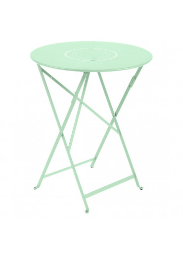 Fermob Tisch Floreal Ø60 cm Opalgrün