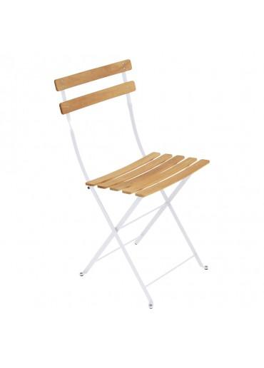 """Fermob Bistro Stuhl """"Naturel"""" Baumwollweiß"""