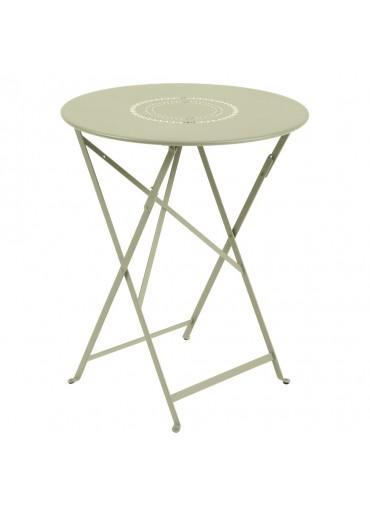 Fermob Tisch Floreal Ø60 cm Lindgrün