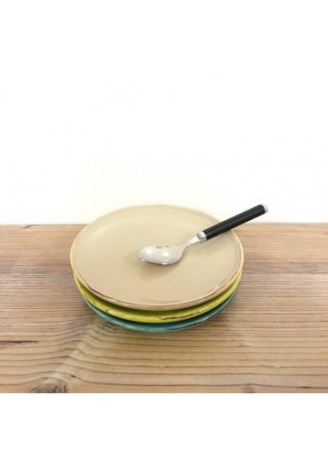 Grün & Form Untertassen / Dessert Teller nuss