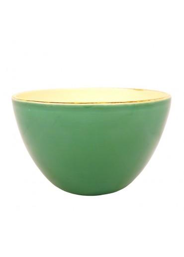 Grün & Form Salatschale L dunkelgrün