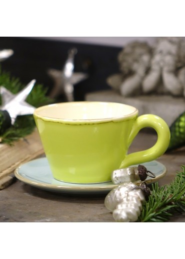 "Grün & Form Tasse ""Classic"" apfelgrün"
